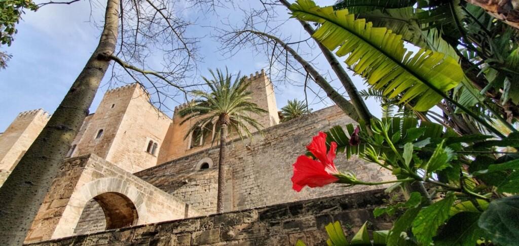 09 Palau Reial de lAlmudaina Koenigspalast Palma de Mallorca Sehenswuerdigkeiten Balearen Spanien