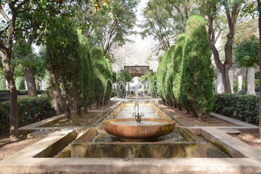 10 Garten Jardines de SHort del Rei am Koenigspalast Palma de Mallorca Sehenswuerdigkeiten Balearen Spanien