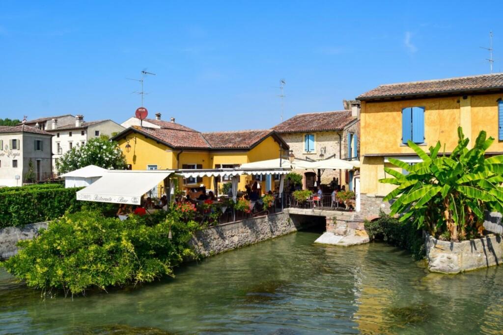 Mühlendorf Borghetto sul Mincio Gardasee Venetien Italien