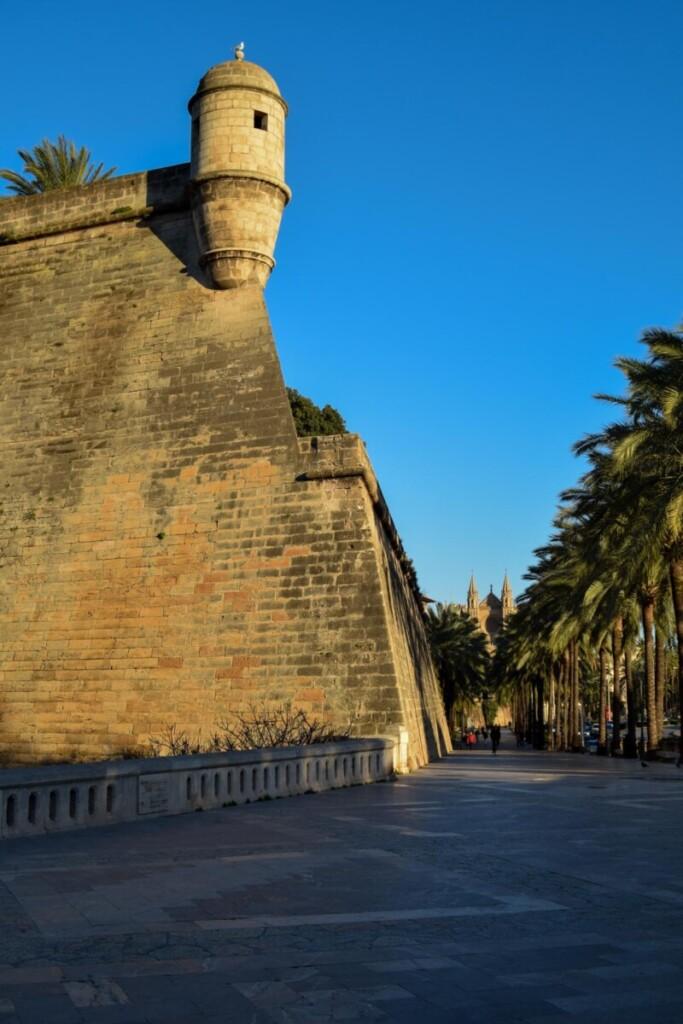 14 Festung Bastio de Sant Pere Palma de Mallorca Sehenswuerdigkeiten Balearen Spanien