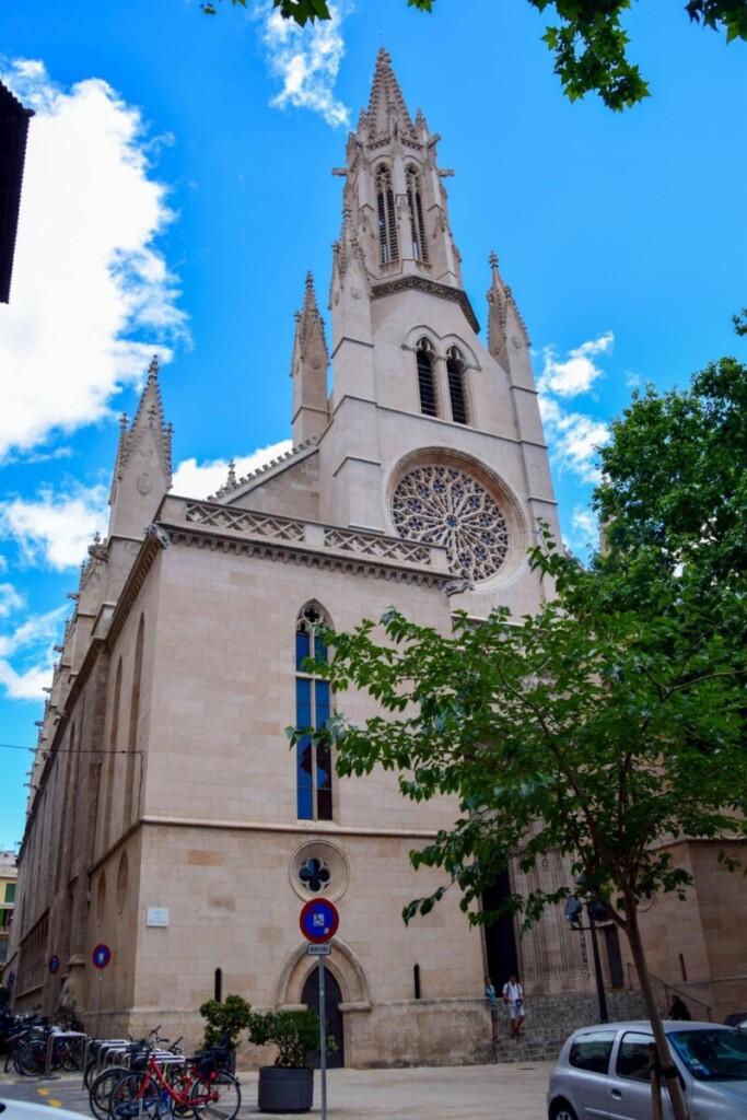 29 Kirche Esglesia de Santa Eulalia Palma de Mallorca Sehenswuerdigkeiten Balearen Spanien