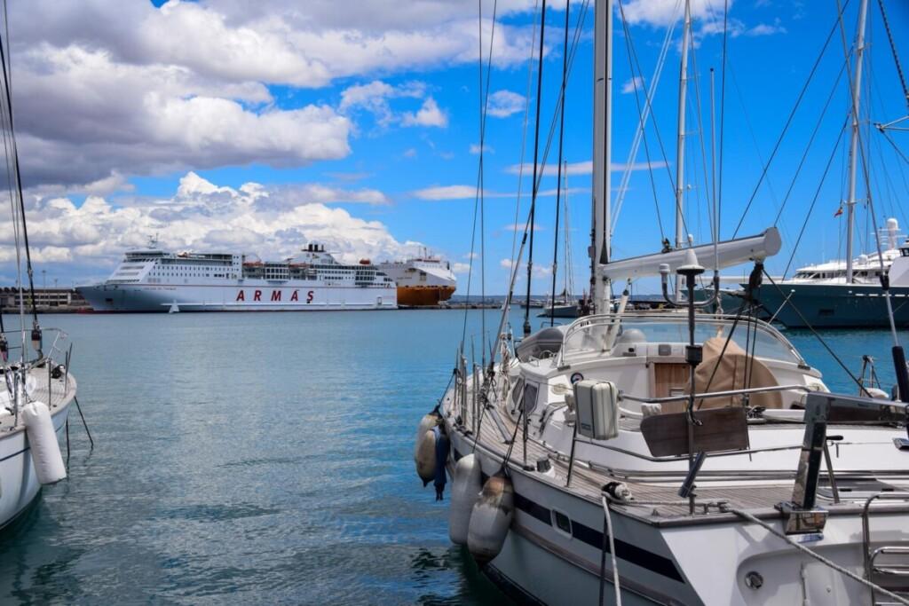 44 Faehrhafen Palma de Mallorca Balearen Spanien